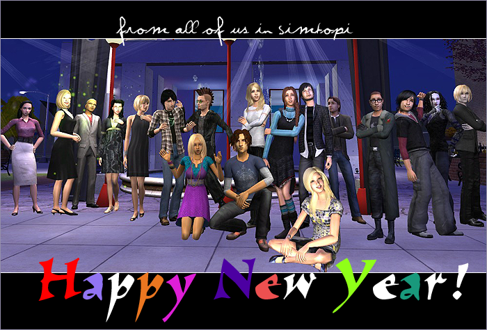 Happy New Year from all of us in Simtopi