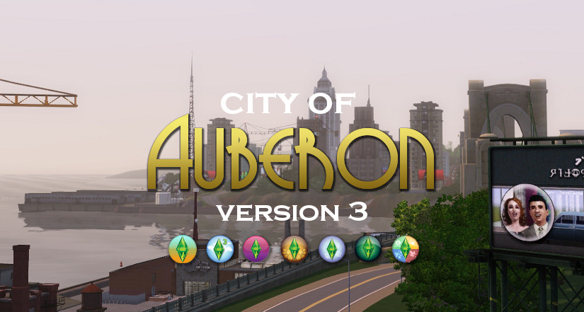 The City of Auberon: A Sims 3 World (Updated)