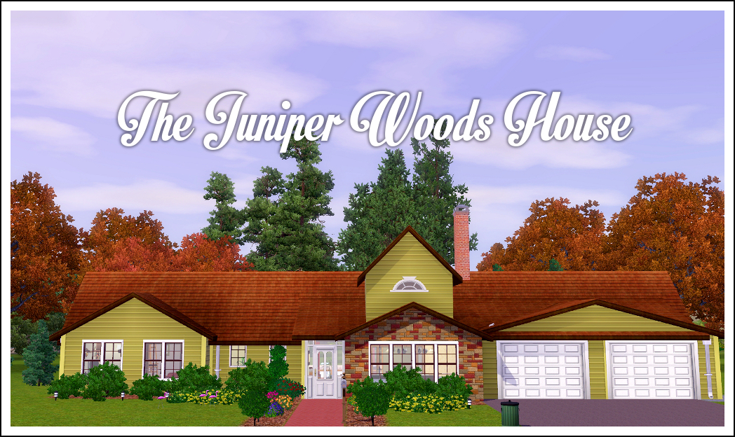 TS3 Lot: The Juniper Woods House