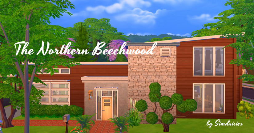 TS4 Lot: The Northern Beechwood