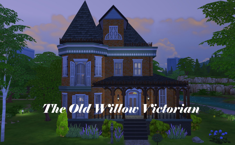TS4 Lot: The Old Willow Victorian