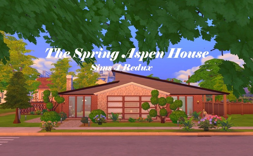 TS4 Lot: The Spring Aspen