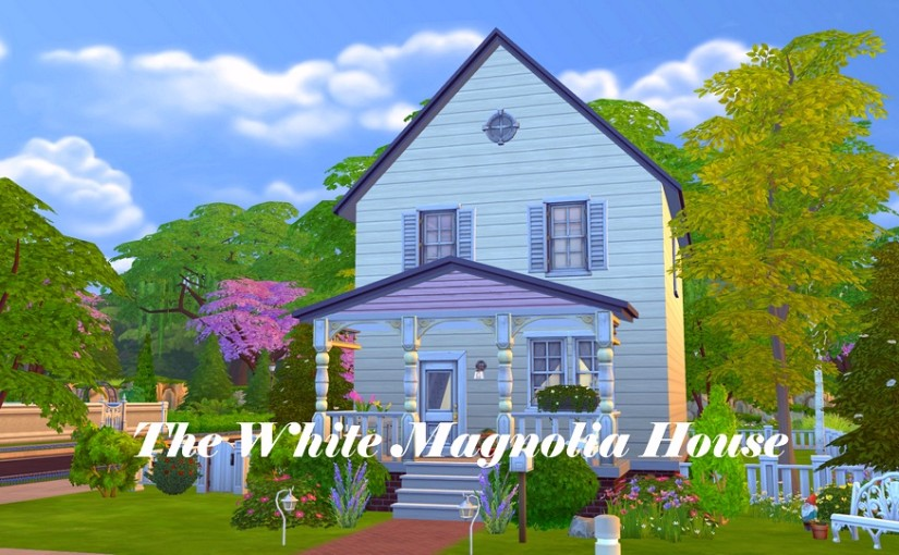 TS4 Lot: The White Magnolia