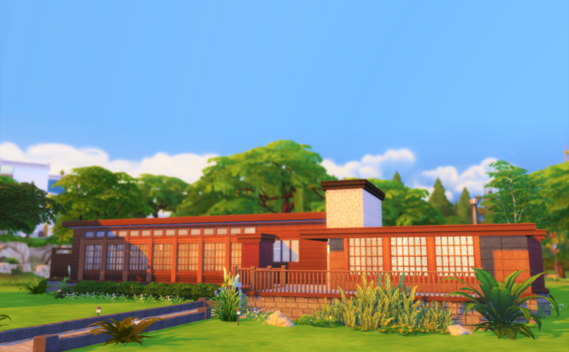 TS4 Lot: The Bay Forest House